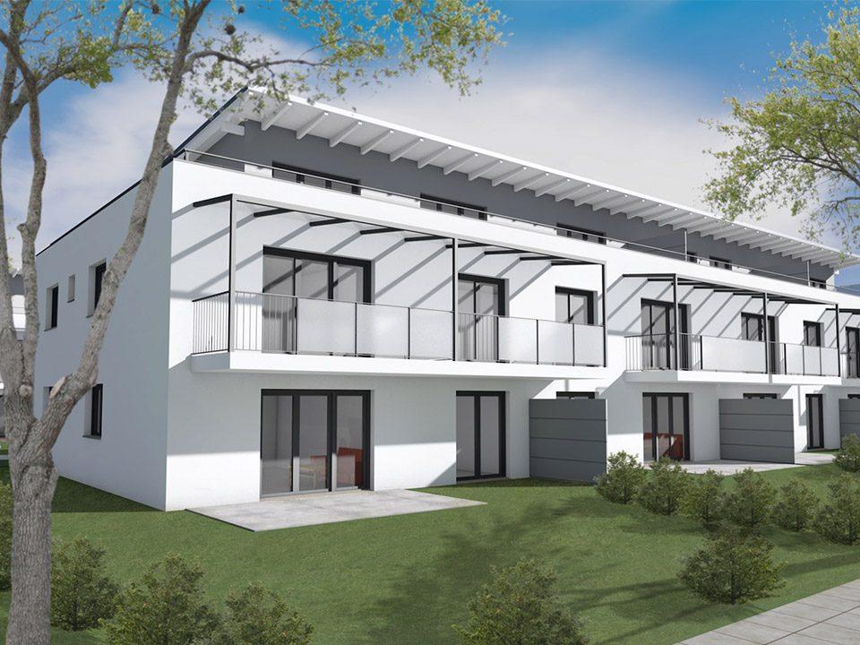 Neubau Wohnanlage Aschheim Weidachstraße