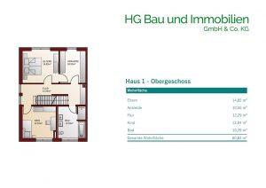 Ismaning Haus 1 Obergeschoss
