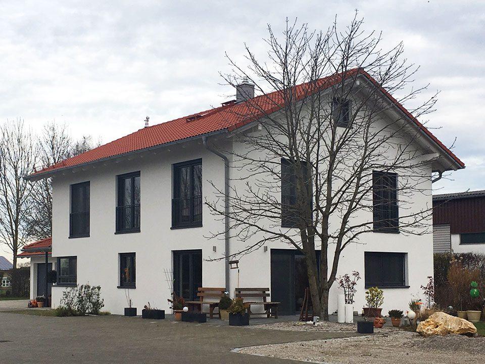 Neubau Ismaning Mayerbacherstr.