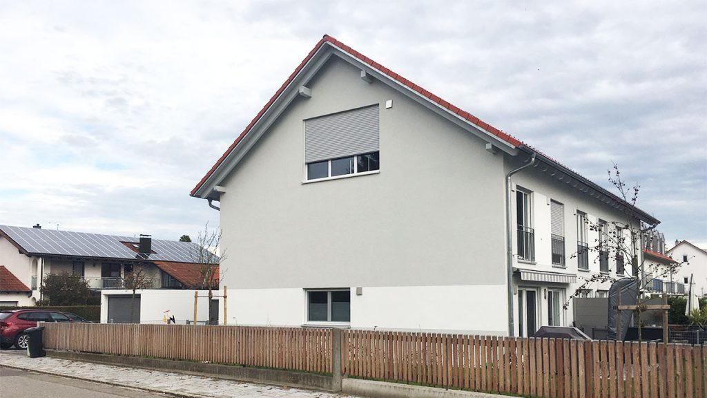 Neubau Dreispänner Ismaning Reisingerstraße