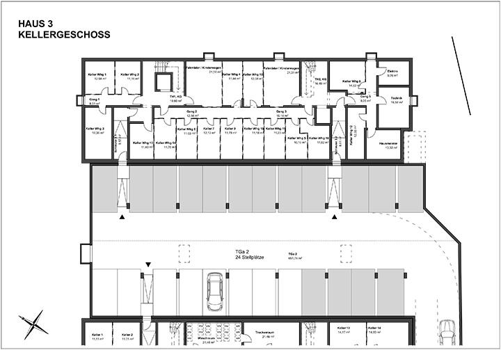 Wohnanlage Aschheim Weidachstraße Haus 3 KG