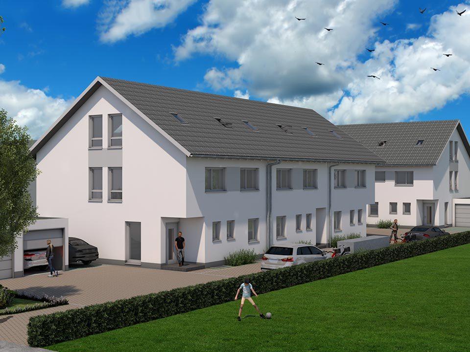 Kirchheim bei München Doppelhaus Dreispänner
